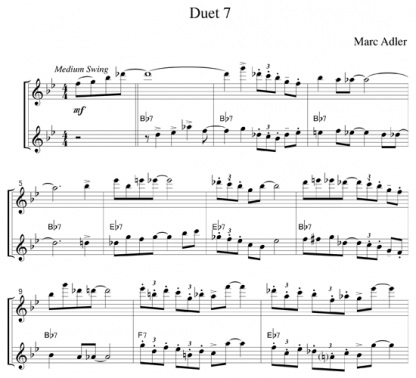 Jazz Duets for the Flute   ScoreVivo