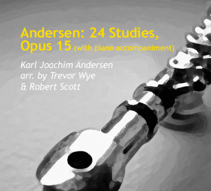 Andersen: 24 Studies, Opus 15 for flute with piano accompaniment | ScoreVivo