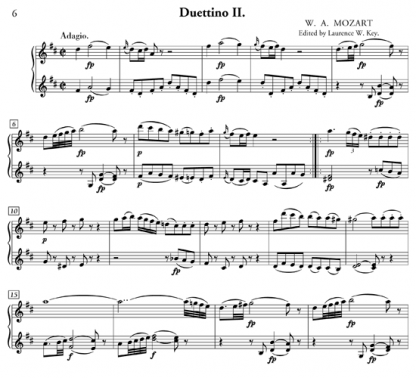 Three Easy Duos for flute and violin | ScoreVivo