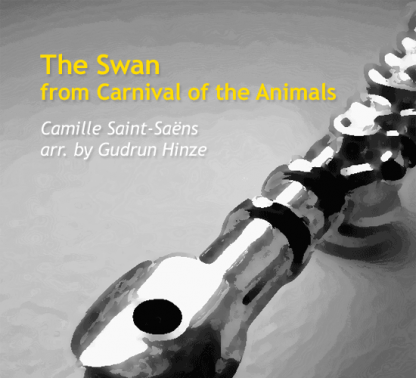 Carnival of the Animals: The Swan for flute ensemble | ScoreVivo