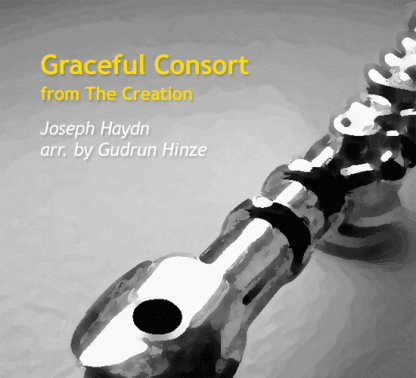 Graceful Consort from The Creation for flute quintet   ScoreVivo