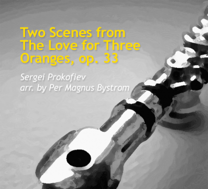 Two Scenes from The Love for Three Oranges, Op 33 for flute octet | ScoreVivo