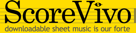 ScoreVivo | downloadable sheet music is our forte