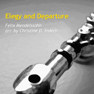 Elegy and Departure by Mendelssohn and Indech
